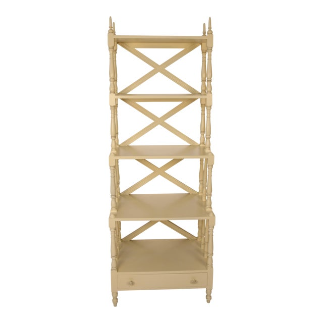 Regency Style Painted 5-Tier Etagere For Sale