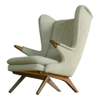 1960s Papa Bear Chair Model 91 in the Style of Hans Wegner by Sven Skipper