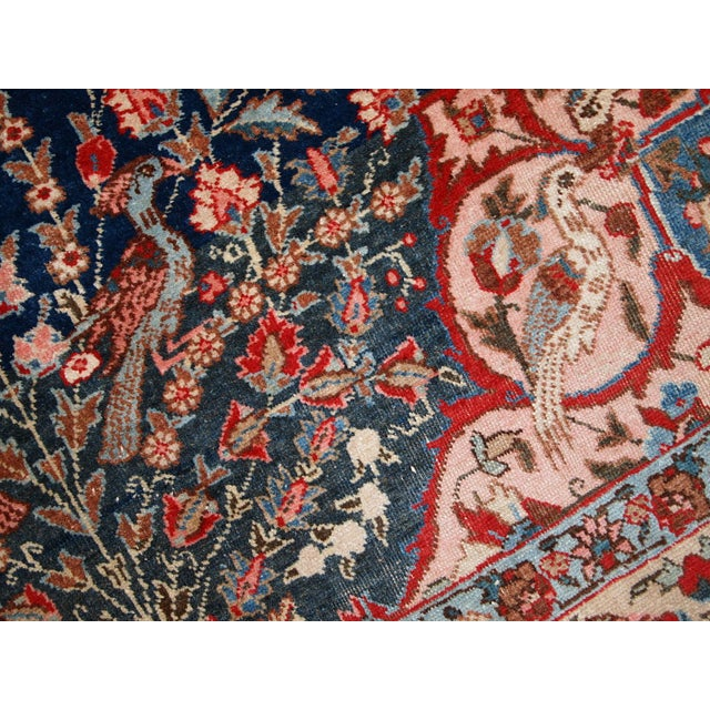 1920s Antique Persian Tabriz Rug- 6′4″ × 10′2″ For Sale - Image 5 of 10