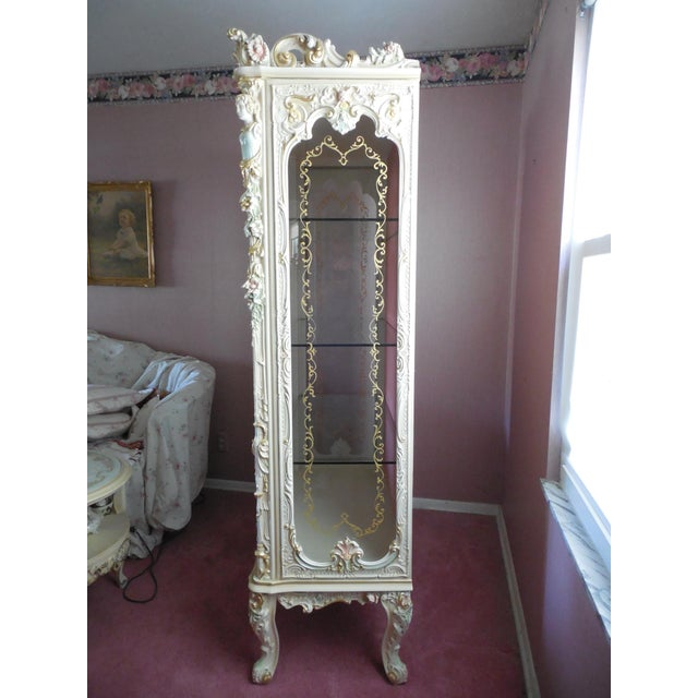 Italian Style Display Cabinet - Image 4 of 11