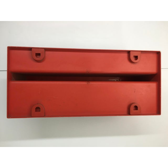 Plastic 1970s Vintage Wall-Mounted Plastic Shelves by Marcello Siard for Kartell - a Pair For Sale - Image 7 of 13