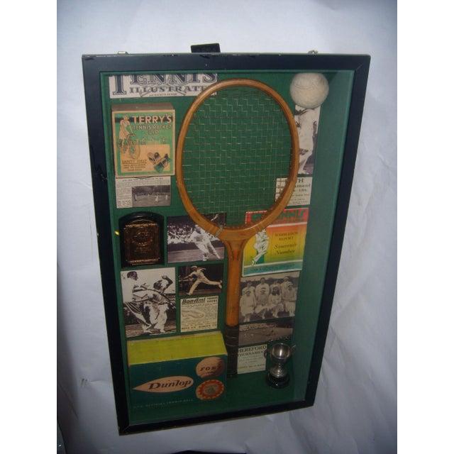 English Tennis Shadow Box - Image 2 of 7