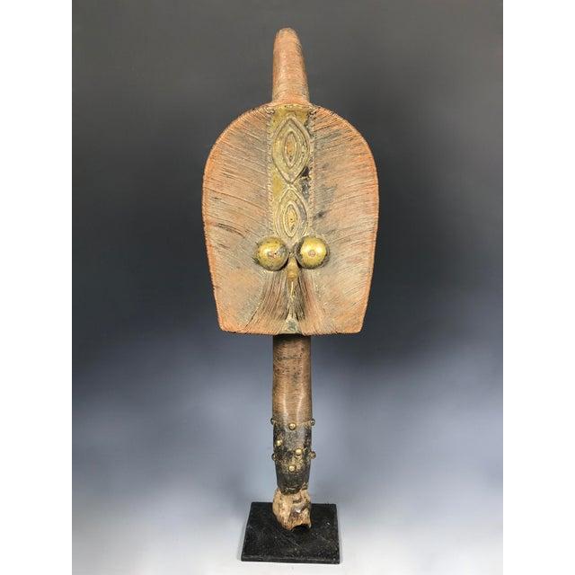 African Art Bakota Reliquary Guardian Figure From Gabon - Image 2 of 11
