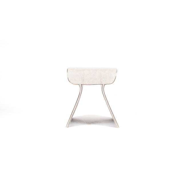The dandy stool in cream shagreen is a chic seating piece for any space. The clean lines make it an adaptable piece and...