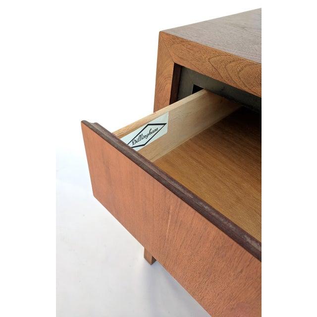 Mid-Century Modern Dillingham for Merton Gershun Walnut Dresser For Sale - Image 10 of 11