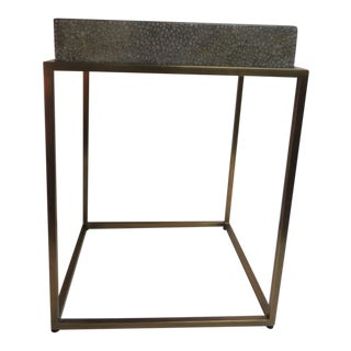 Theodore Alexander Designed and Signed Brass Tray Table