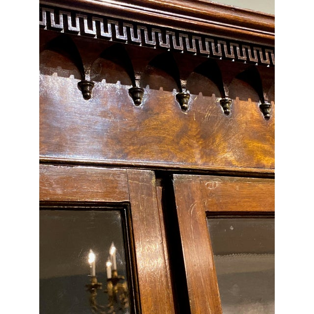 Mid 18th Century 18th Century Chippendale Breakfront For Sale - Image 5 of 10