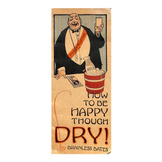 """""""How to Be Happy Though Dry!"""" Book For Sale"""