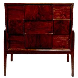 Pair of Piet Hein Rosewood Nightstands For Sale