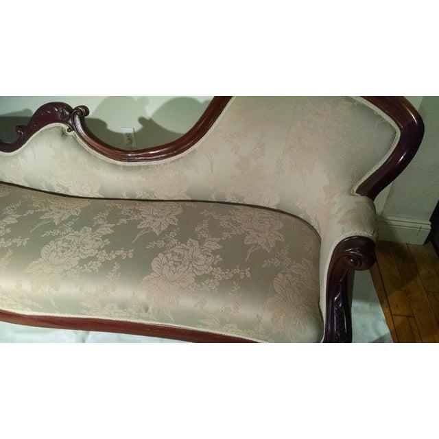 Antique Victorian Rosewood Sofa - Image 9 of 10