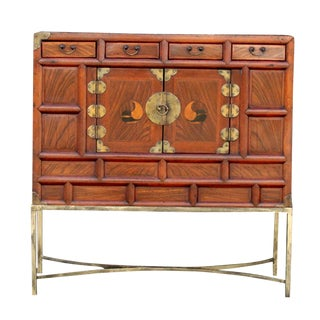 Mid-Century Korean Chest For Sale
