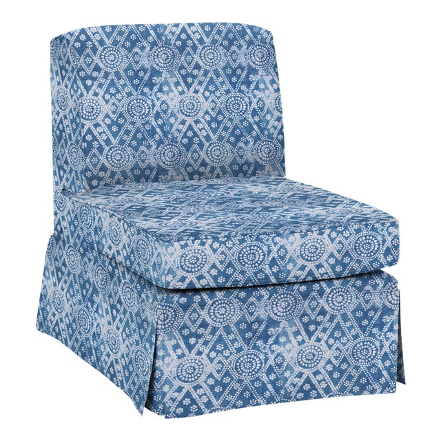 Not Yet Made - Made To Order LuRu Home for Casa Cosima Slipper Chair, Pavillion Bay For Sale - Image 5 of 5