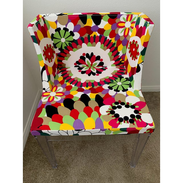 Contemporary Kartell Phillipe Starck Missoni Mademoiselle Replica Chair For Sale - Image 3 of 9