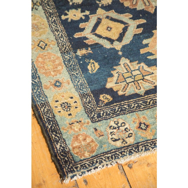 "Antique Malayer Rug Runner - 3'8"" x 6'10"" For Sale - Image 9 of 10"