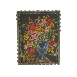Antique Embroidered Tapestry