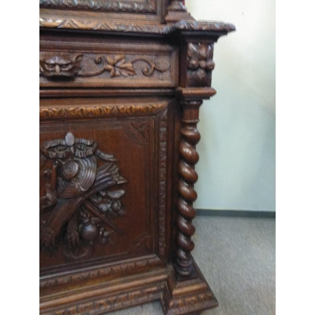 19th Century French Hunter's Cabinet/Bookcase For Sale - Image 11 of 13