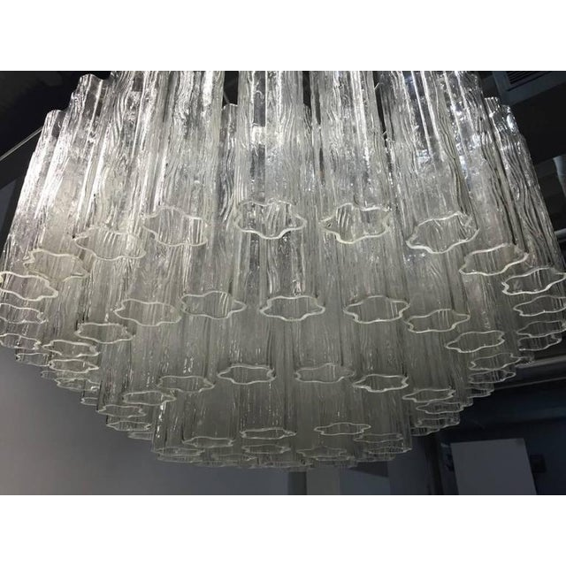 Italian Mid-Century Round Tronchi Chandelier For Sale In New York - Image 6 of 9