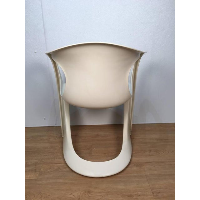 Off White Steen Ostergaard Chairs - Set of 6 - Image 6 of 8