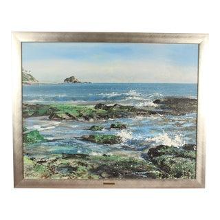 1980s Coastal South Laguna Painting For Sale
