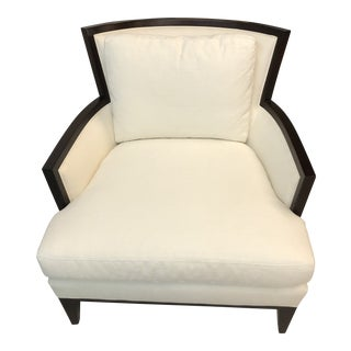 Baker Furniture Barbara Barry Collection California Cane Lounge Chair