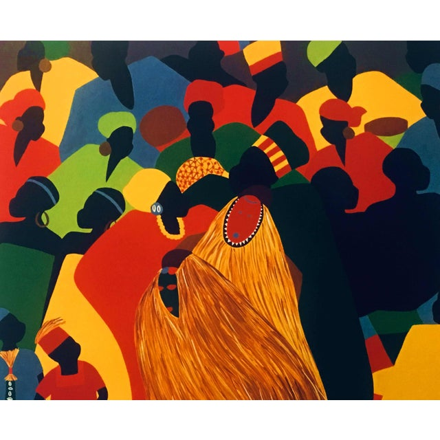 """2000 - 2009 1996 Black Heritage Art Show """"Celebration"""" Poster by Synthia Saint James For Sale - Image 5 of 11"""