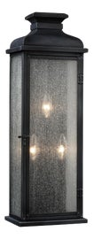 Image of Stainless Steel Finish Outdoor Lanterns