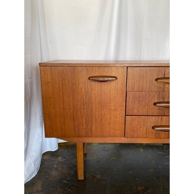 Mid-Century Modern 1960s Mid Century Modern Teak Credenza For Sale - Image 3 of 12