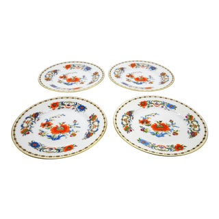 Raynaud Ceralene Limoges Vieux Chine Bread and Butter Plates - Set of 4 For Sale