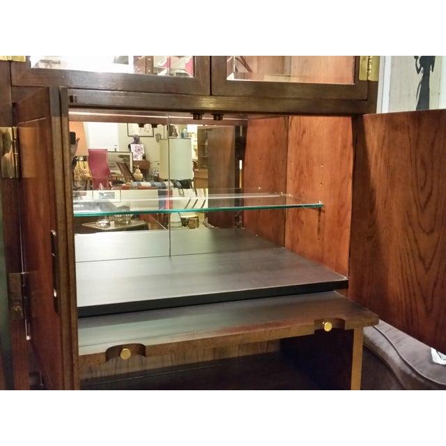 Henredon Scene I Campaign Style Cabinets - Set of 3 - Image 9 of 11