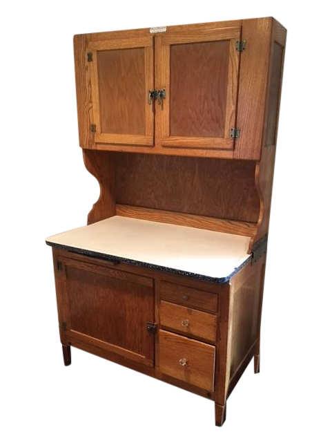 1930s Antique Hoosier Kitchen Cabinet