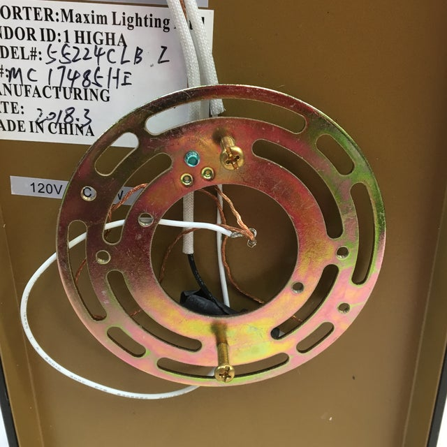 Maxim Lighting Geometric Waterfall Led Outdoor Wall Sconce For Sale In Washington DC - Image 6 of 12