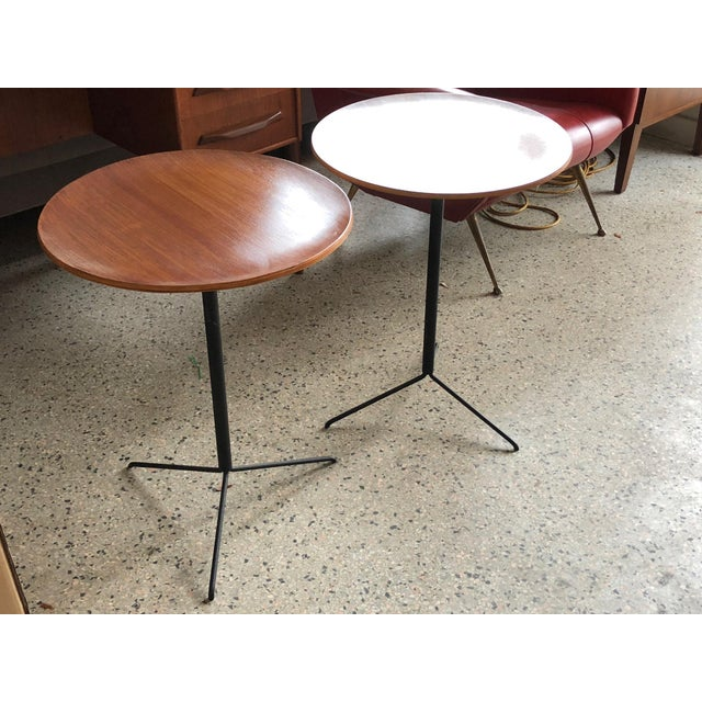 Tecno Osvaldo Borsani for Tecno Occasional Tables For Sale - Image 4 of 8
