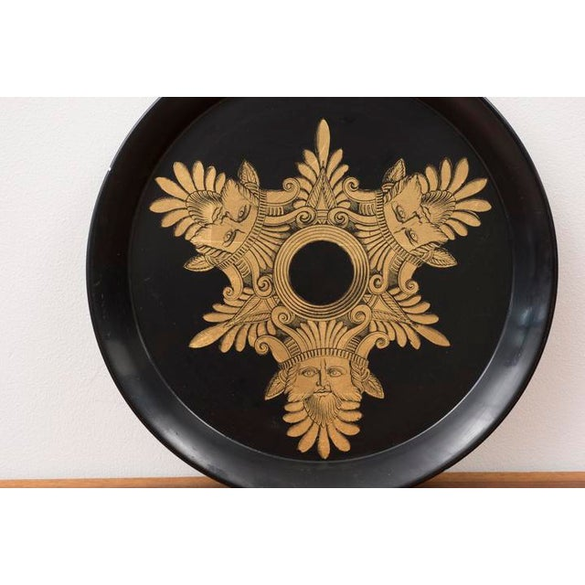 Mid-Century Modern 1950s Piero Fornasetti Three Kings Serving Tray For Sale - Image 3 of 8