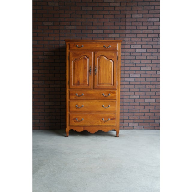 French Provincial Ethan Allen Maison Door Chest For Sale - Image 6 of 6