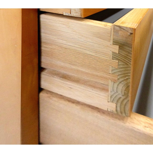 Mid century Maple Dresser by Jack Cartwright for Founders Furniture For Sale - Image 5 of 8
