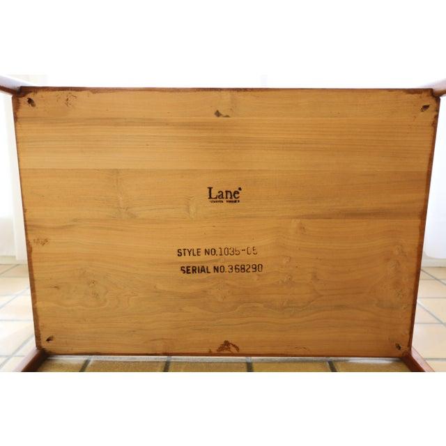 Lane Furniture Lane Rhythm Mid-Century Walnut Side Table For Sale - Image 4 of 10