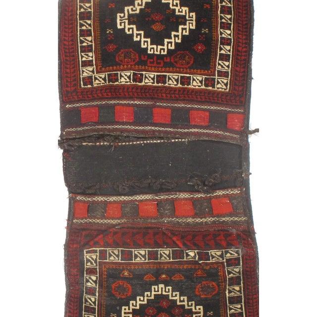 "Vintage Persian Saddlebag - 2'2"" X 4'10"" - Image 2 of 2"
