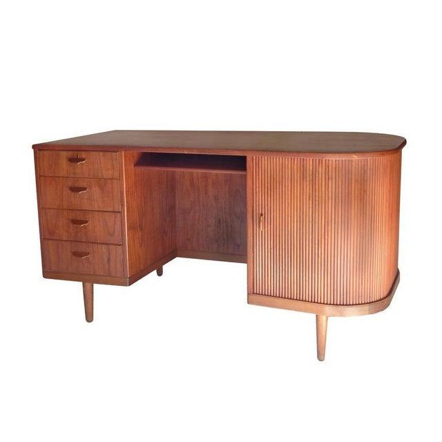 """Perfect Scandinavian """"Mad-Men"""" Desk - Image 4 of 10"""