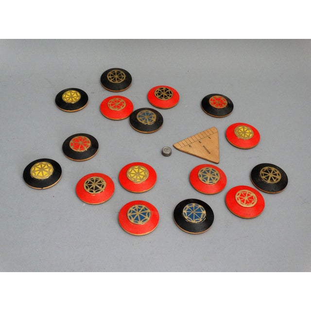 19th-Century English Squails Game, Rare For Sale - Image 4 of 10