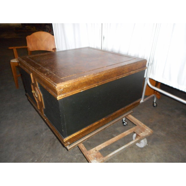 Black Asian Square Table - Image 3 of 7