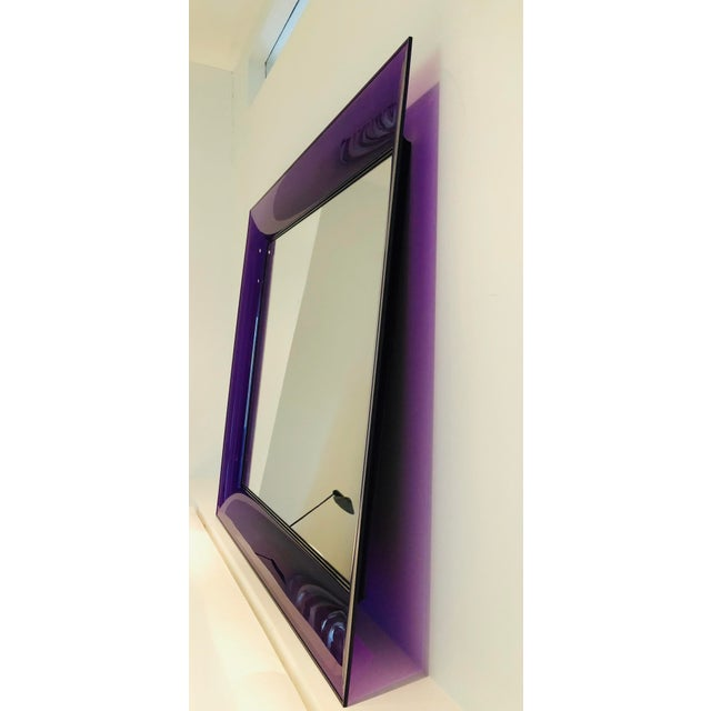 Early 21st Century Purple Francois Ghost Mirror by Phillippe Starck for Kartell For Sale - Image 5 of 10