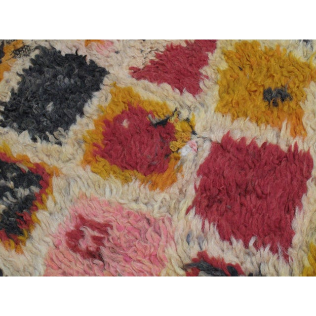 Red Ait Youssi Moroccan Berber Rug For Sale - Image 8 of 10