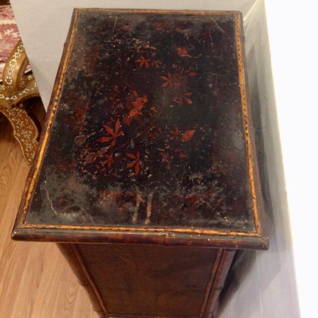 19th Century English Bamboo Cabinet For Sale In West Palm - Image 6 of 13