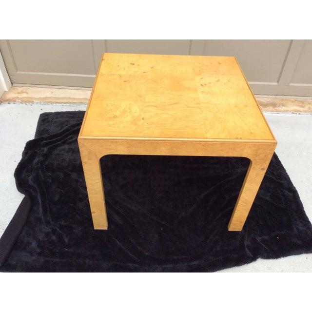 Mid Century Modern Henredon Scene Two Burlwood Table For Sale - Image 11 of 11
