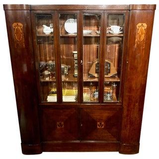 Austrian Art Nouveau Complete Library Suite For Sale