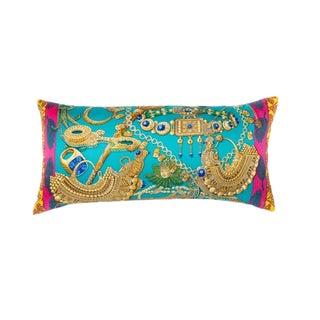 """Zenobie Reine De Palmyre"" Hermès Silk Scarf Pillow For Sale"