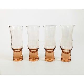 Vintage Blush Pink Cocktail Glasses / Set of 4 Preview