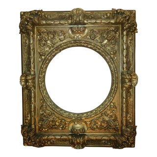 "Antique Carved and Gilded ""Raphael"" Frame For Sale"