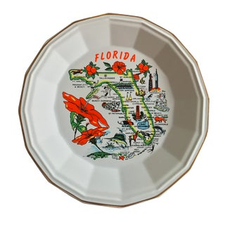 Sunshine State Souvenir Plate For Sale