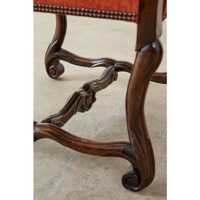 Set of Sixteen French Os De Mouton Style Dining Chairs For Sale - Image 9 of 13